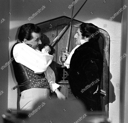 Patrick Macnee and Jeremy Young.
