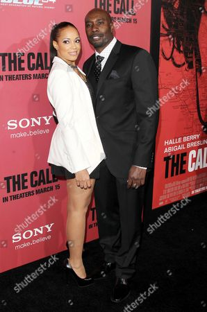 Pam Byse and Morris Chestnut