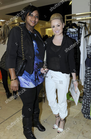Chantelle Tagoe and Jessica Lawlor