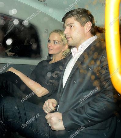 Jennifer Ellison and husband Robbie Tickle