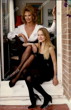 Actress Nyree Dawn Porter With Her Daughter Tassy Nyree Dawn Porter Obe (22 January 1936/1940 Oo 10 April 2001) Born Ngaire Porter ('nyree' Is The Phonetic Spelling Of The Anglicised Pronunciation Of Her Name) Was A New Zealand-born Actress Of Stage Film And Television.