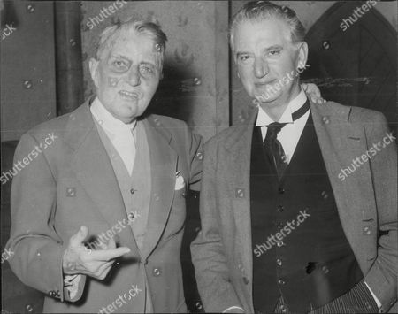 Actor A.e. Matthews With Charles Hislop (right) A. E. Matthews Obe (22 November 1869 Oo 25 July 1960) Was An English Actor Who Played Numerous Character Roles On The Stage And In Film For Eight Decades And Who Became Known For His Acting Longevity. Already Middle-aged When Silent Films Began Production He Enjoyed Increasing Renown From World War Ii Onwards As One Of The British Cinema's Most Famous Crotchety And Sometimes Rascally Old Men.