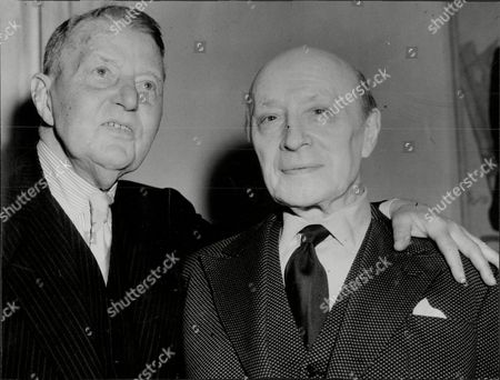 Actor A.e. Matthews (left) With Signor Ruggero Ruggeri A. E. Matthews Obe (22 November 1869 Oo 25 July 1960) Was An English Actor Who Played Numerous Character Roles On The Stage And In Film For Eight Decades And Who Became Known For His Acting Longevity. Already Middle-aged When Silent Films Began Production He Enjoyed Increasing Renown From World War Ii Onwards As One Of The British Cinema's Most Famous Crotchety And Sometimes Rascally Old Men.