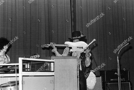 The Jimi Hendrix Experience with Noel Redding