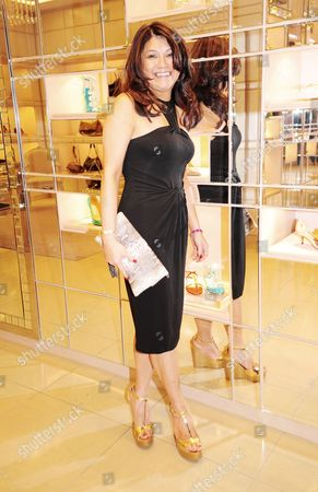 Editorial photo of Well Being of Women event, Jimmy Choo Store, Knightsbridge, London, Britain - 06 Mar 2013