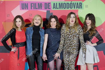 Editorial photo of 'I'm So Excited' film premiere, Mardrid, Spain - 06 Mar 2013