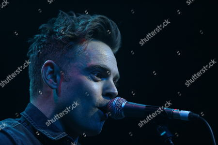 Editorial picture of Ben Montague in concert (supporting Amy Macdonald) at The Picture House, Edinburgh