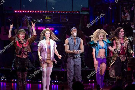 Editorial photo of 'Rock of Ages' Broadway show, New York, America - 06 Mar 2013