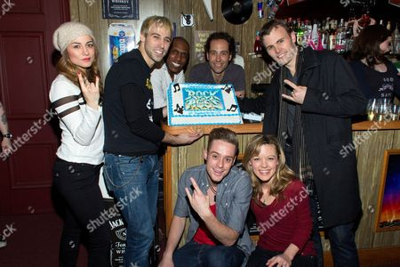 Editorial picture of 'Rock of Ages' Broadway show, New York, America - 06 Mar 2013