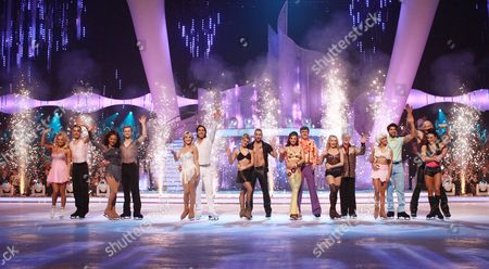 Pamela Anderson and Matt Evers   Samia Ghadie and Sylvain Longchambon   Keith Chegwin and Olga Sharutenko   Shayne Ward and Maria Filippov   Matt Lapinskas and Brianne Delcourt   Luke Campbell and Jenna Harrison   Gareth Thomas and Robin Johnstone   Beth Tweddle and Daniel Whiston   Joe Pasquale and Vicky Ogden   Anthea Turner and Andy Buchanan