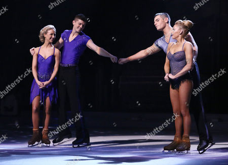 Luke Campbell and Jenna Harrison and Matt Lapinskas and Brianne Delcourt