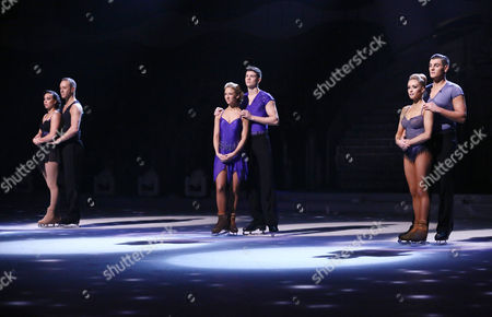 Stock Photo of The finalists - Beth Tweddle and Daniel Whiston, Luke Campbell and Jenna Harrison and Matt Lapinskas and Brianne Delcourt
