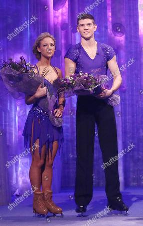Stock Image of Luke Campbell and Jenna Harrison finish third