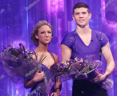Editorial photo of 'Dancing on Ice' TV Programme final, Elstree Studios, Hertfordshire, Britain - 10 Mar 2013