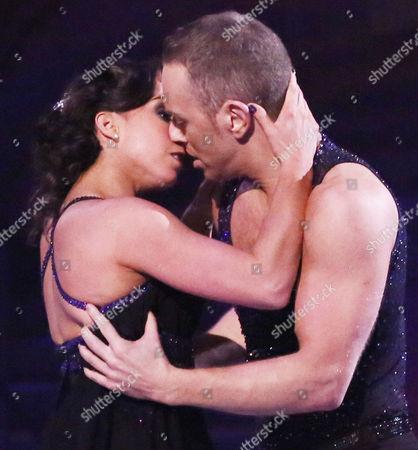 Beth Tweddle and Daniel Whiston dancing the Bolero