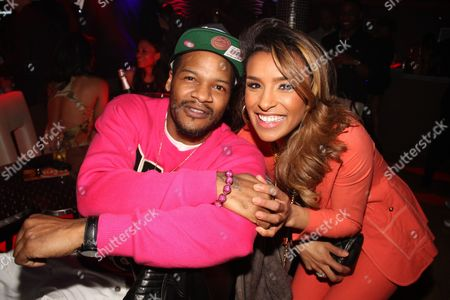 Stock Image of Jaheim and Melody Thornton