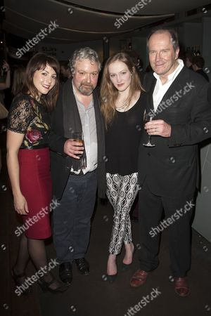 Catrin Stewart, John Sessions, Eve Ponsonby and William Boyd