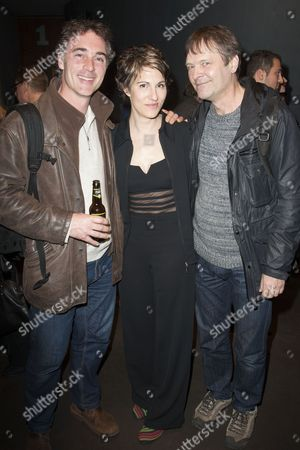 Greg Wise, Tamsin Greig and Mark Heap