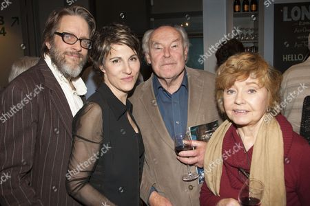 Richard Leaf, Tamsin Greig, Timothy West and Prunella Scales