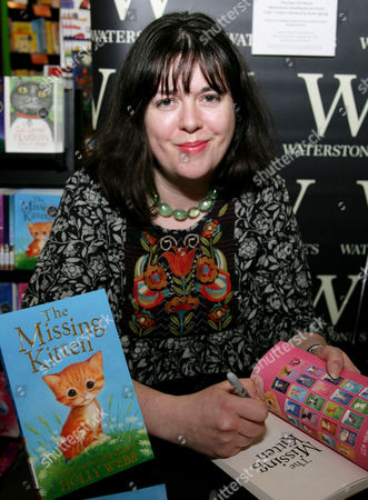 Editorial picture of Holly Webb promotes 'The Missing Kitten', Reading, Britain - 07 Mar 2013