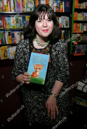 Editorial photo of Holly Webb promotes 'The Missing Kitten', Reading, Britain - 07 Mar 2013