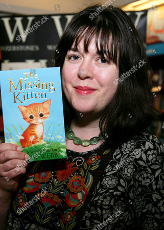 Editorial image of Holly Webb promotes 'The Missing Kitten', Reading, Britain - 07 Mar 2013