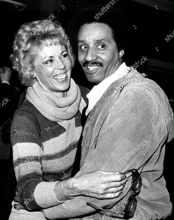 Jean Raymond (ex Wife Of Paul Raymond Now Mrs Monroe Powell) With Her Husband Monroe Powell Of The Pop Group The Platters.