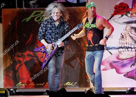 Poison - C C DeVille and Bret Michaels