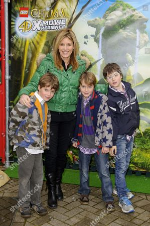 Andrea Catherwood with children