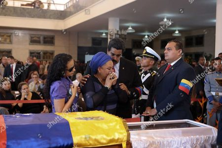 Editorial picture of Mourning of death of President Hugo Chavez, Caracas, Venezuela - 07 Mar 2013