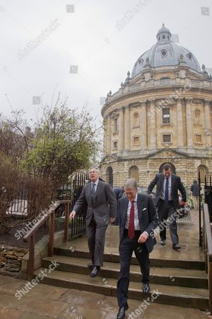 Editorial picture of The Duke of Gloucester attends re-opening of University Church of St Mary The Virgin, Oxford, Britain - 08 Mar 2013