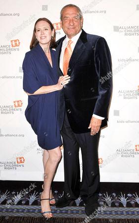 Noelle Lippman and Dick Wolf