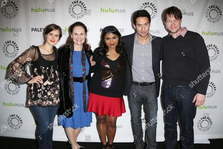 Zoe Jarman, Beth Grant, Mindy Kaling, Ed Weeks and Ike Barinholtz