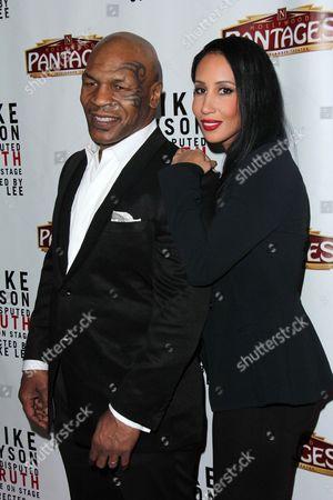 Mike Tyson and Lakiha Kiki Spicer Tyson