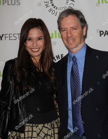 Stock Photo of Michael M. Robin with Amy Chu