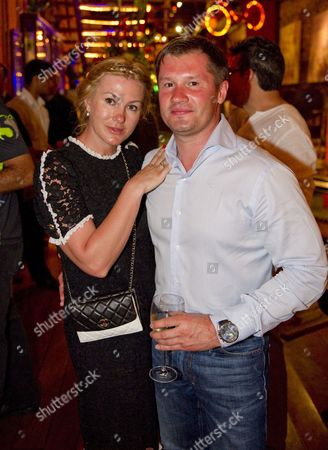 Stock Image of Alexei Nemov and wife Galina Nemov