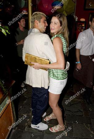 Pedro Scooby and Luana Piovani
