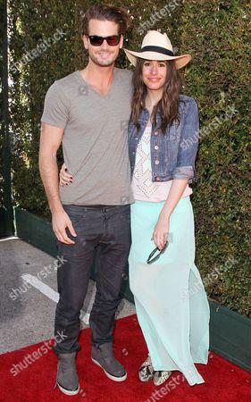 Stock Image of Louise Roe and boyfriend Josh Slack