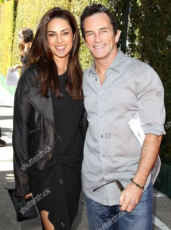 Lisa Russell and Jeff Probst