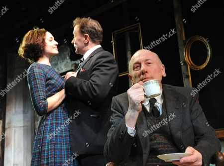 Tuppence Middleton as Rose, Christopher Villiers as Michael and Christopher Timothy as Father James