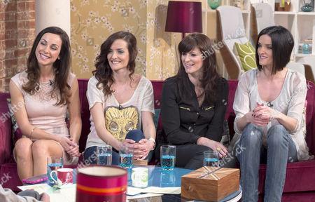 B Witched - Lindsay Armaou, Keavy Lynch, Sinead O'Carroll and Edele Lynch