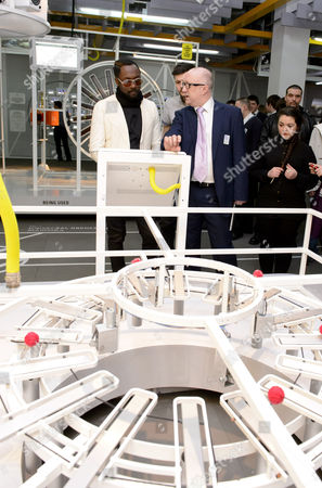 will i am with Dave Patten, Head of New Media at the Science Museum