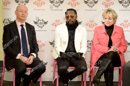 Dave Patten, Head of New Media Science Museum, Will i am. and Martina Milburn, Chief Executive The Prince's Trust.