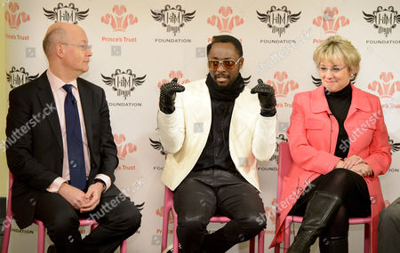 Dave Patten, Head of New Media Science Museum, Will i am and Martina Milburn, Chief Executive The Prince's Trust.