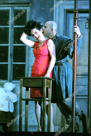 Victoria Simmonds as Marie and Bejun Mehta as Boy