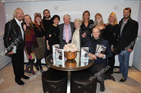 Sir Richard Branson, Vanessa Branson, Holly Peppe, Eve Branson, Holly Branson, Lindy Branson and Joan Branson