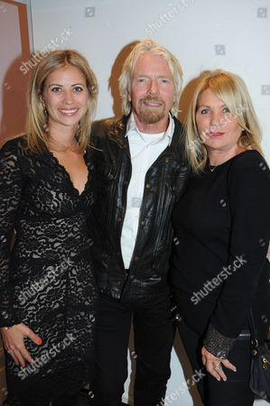 Sir Richard Branson, Holly Branson and Joan Branson