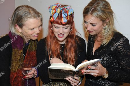 Editorial image of Eve Branson 'Mum's the Word' book launch, London, Britain - 11 Mar 2013