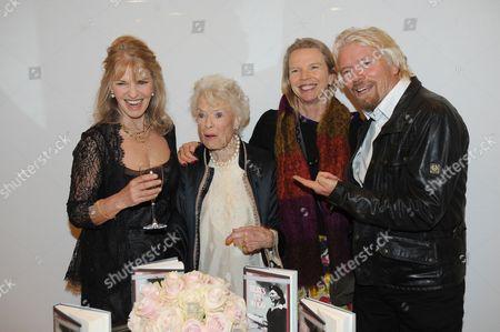 Lindy Brockway, Eve Branson, Vanessa Branson and Sir Richard Branson