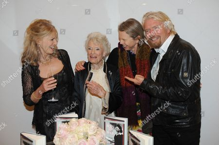 Stock Picture of Lindy Brockway, Eve Branson, Vanessa Branson and Sir Richard Branson